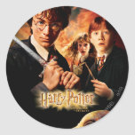 Chamber of Secrets - French Classic Round Sticker