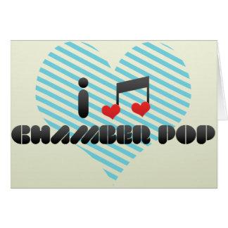 Chamber Pop fan Greeting Card
