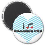 Chamber Pop fan Fridge Magnet