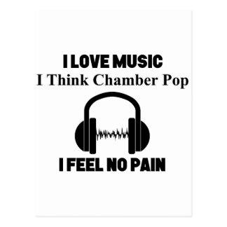 Chamber Pop Postcard
