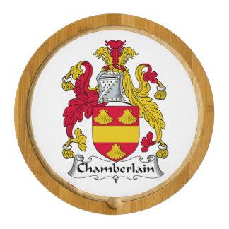 Chamberlain Family Crest Cheese Board