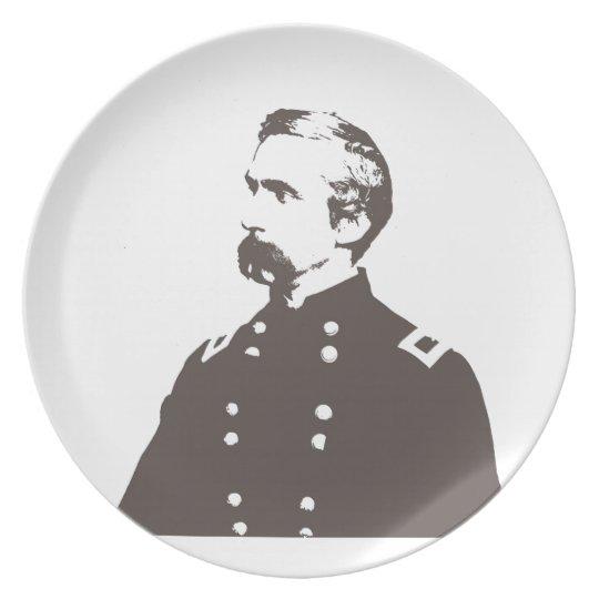 Chamberlain Melamine Plate