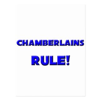 Chamberlains Rule! Postcard