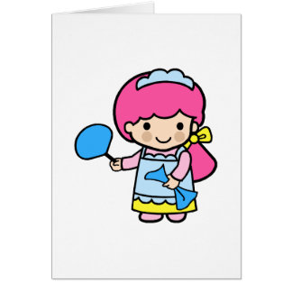 Chambermaid 2 stationery note card