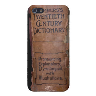 Chamber's 20th Century Dictionary Cover For iPhone SE/5/5s