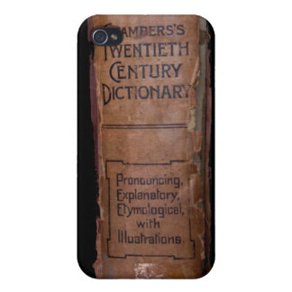 Chamber's 20th Century Dictionary iPhone 4/4S Case
