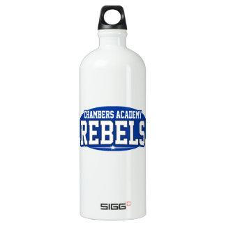 Chambers Academy; Rebels Aluminum Water Bottle