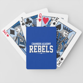 Chambers Academy; Rebels Bicycle Playing Cards