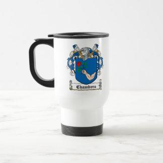 Chambers Family Crest 15 Oz Stainless Steel Travel Mug