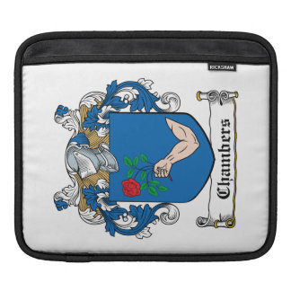 Chambers Family Crest Sleeve For iPads