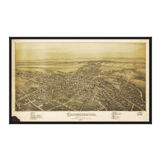 Chambersburg Pennsylvania (1894) Canvas Print