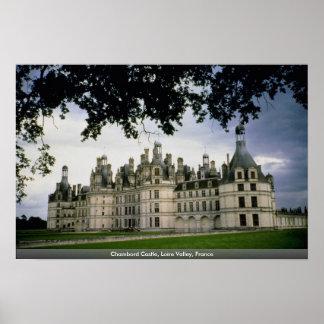 Chambord Castle, Loire Valley, France Poster
