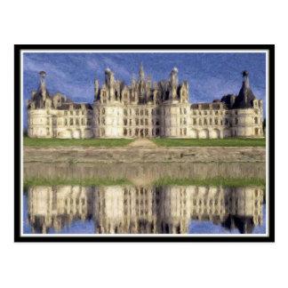 Chambord Castle Postcard