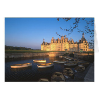 Chambord Chateau Loire Valley Loir-et-Cher Greeting Cards