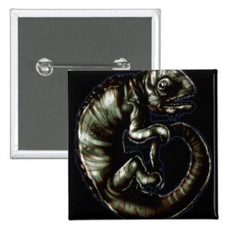 Chameleon1b 2 Inch Square Button