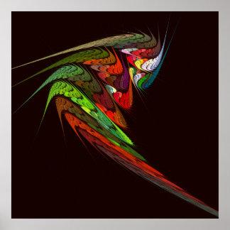 Chameleon Abstract Art Print