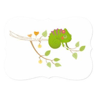 Chameleon branch card