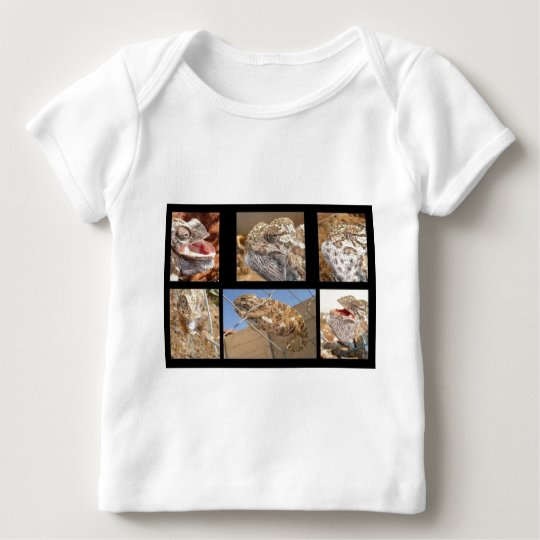 Chameleon Collage Baby T-Shirt