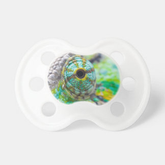 Chameleon eye pacifier
