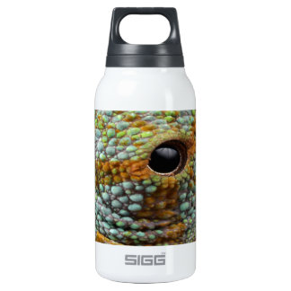 chameleon eye search peace insulated water bottle