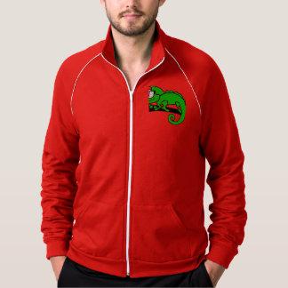 Chameleon hipster cool animal designs. jacket