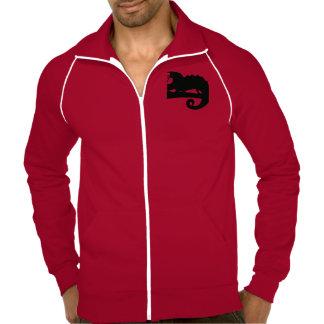 Chameleon hipster cool animal designs. jackets