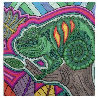 chameleon napkin