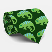 Chameleon Neck Tie