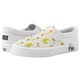 Chameleon Night-Repeated Slip-On Sneakers