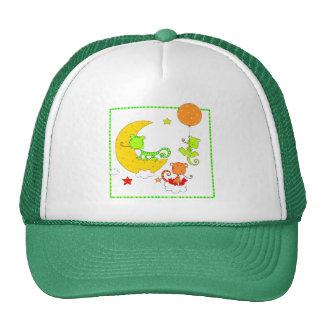 Chameleon Night Trucker Hat
