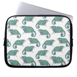 Chameleon Pattern Laptop Computer Sleeves