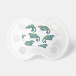 Chameleon Pattern Pacifier