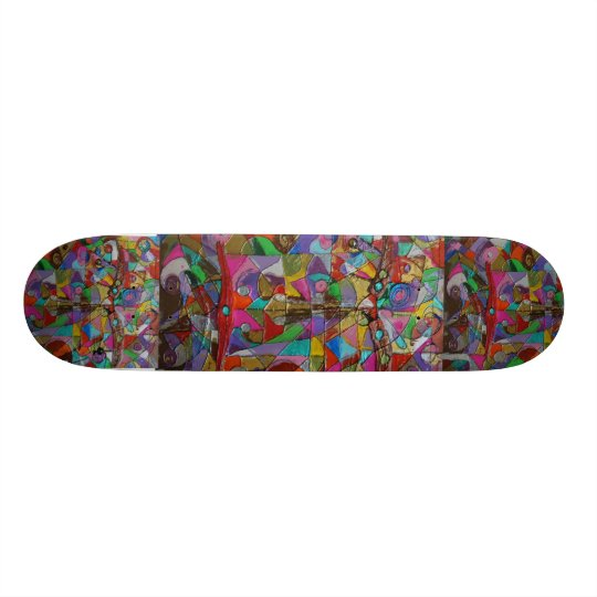 Chameleon Skateboard Deck
