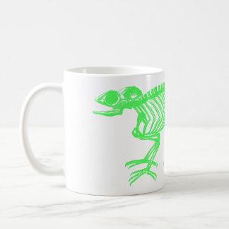 Chameleon Skeleton Coffee Mug