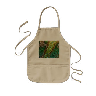 Chameleon Skin Texture Template Aprons