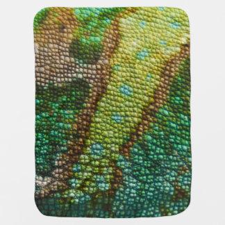 Chameleon Skin Texture Template Baby Blanket