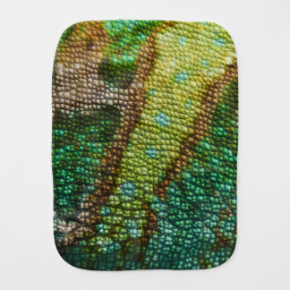 Chameleon Skin Texture Template Burp Cloth