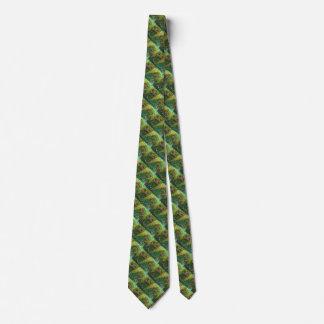 Chameleon Skin Texture Template Neck Tie