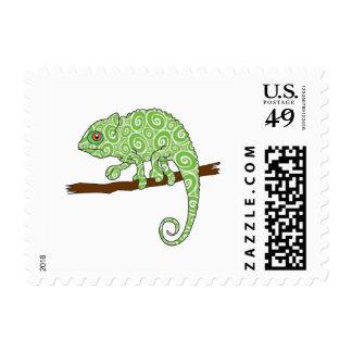 Chameleon Stamp