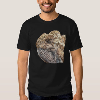 Chameleon With Sinister Facial Expression Isolated Tee Shirt