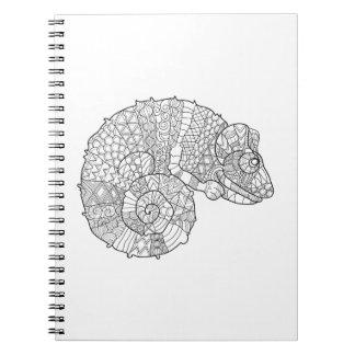 Chameleon Zendoodle Notebook