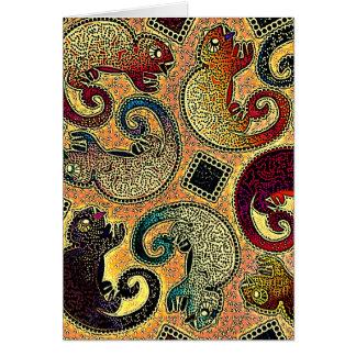 Chameleons Card