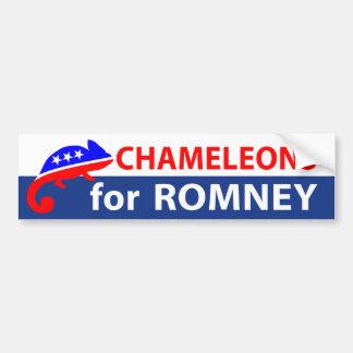 Chameleons for Romney Bumper Stickers