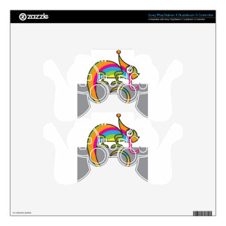 Chamelion vector decal for PS3 controller