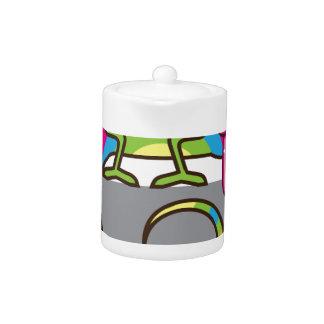 Chamelion vector teapot