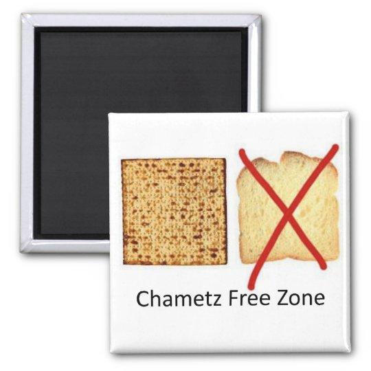 Chametz Free Zone Magnet