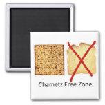 Chametz Free Zone Refrigerator Magnets