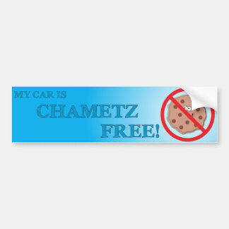 Chametz libera el coche pegatina para auto