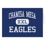 Chamisa Mesa - Eagles - High - Ranchos De Taos Greeting Card