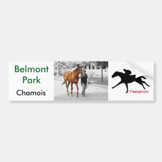 Chamois Bumper Sticker